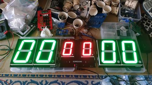 Arduino based digital Scoreboard  (151)