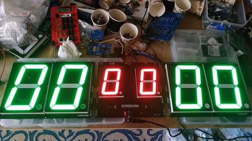 Arduino based digital Scoreboard  (149)