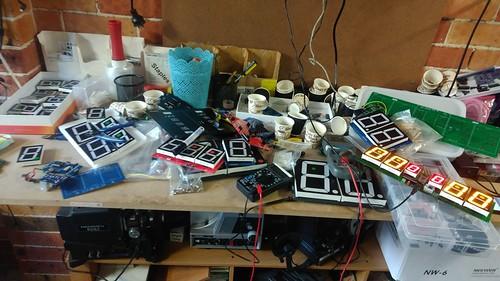 Arduino based digital Scoreboard  (148)