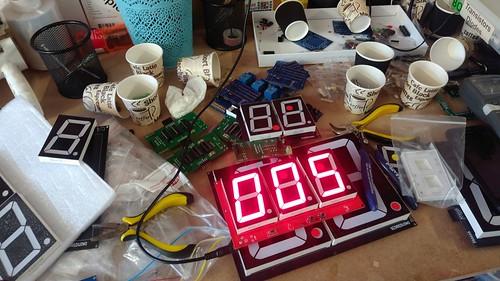 Arduino based digital Scoreboard  (144)