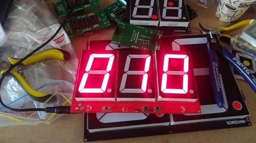 Arduino based digital Scoreboard  (142)