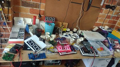Arduino based digital Scoreboard  (140)