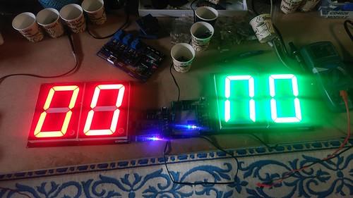 Arduino based digital Scoreboard  (123)
