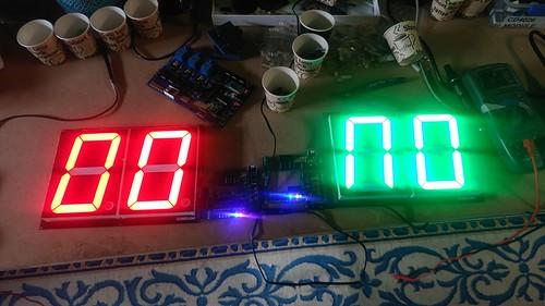 Arduino based digital Scoreboard  (122)