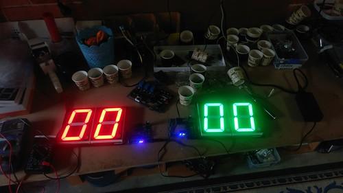 Arduino based digital Scoreboard  (120)