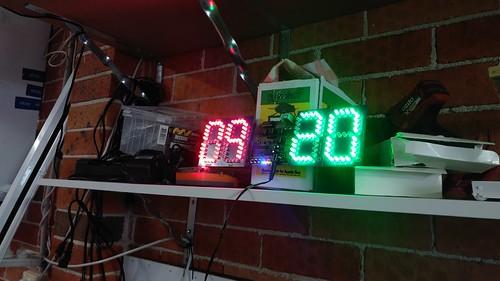 Arduino based digital Scoreboard  (85)