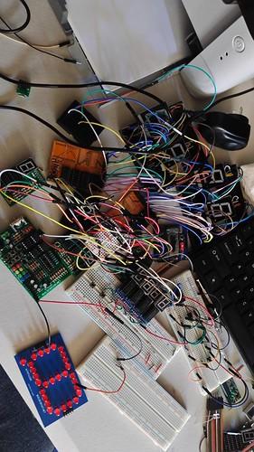 Arduino based digital Scoreboard  (43)
