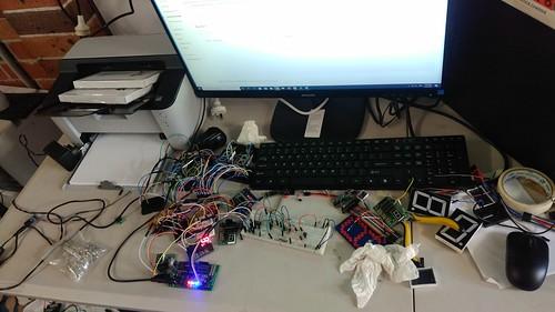 Arduino based digital Scoreboard  (30)