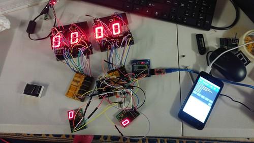Arduino based digital Scoreboard  (28)