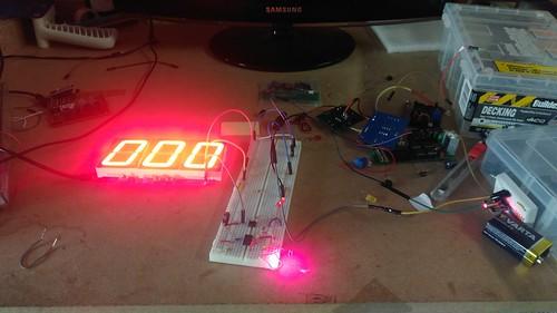 Arduino based digital Scoreboard  (16)