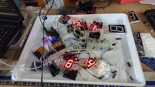 Arduino based digital Scoreboard  (10)