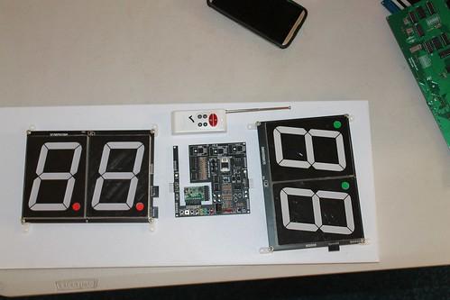 Arduino based digital Scoreboard  (2)