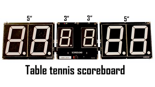 Arduino based digital Scoreboard  (481)