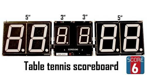 Arduino based digital Scoreboard  (480)