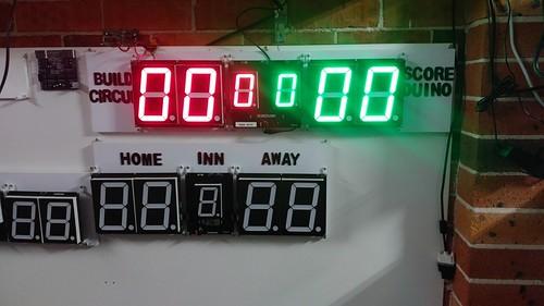 Arduino based digital Scoreboard  (472)