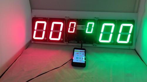 Arduino based digital Scoreboard  (466)