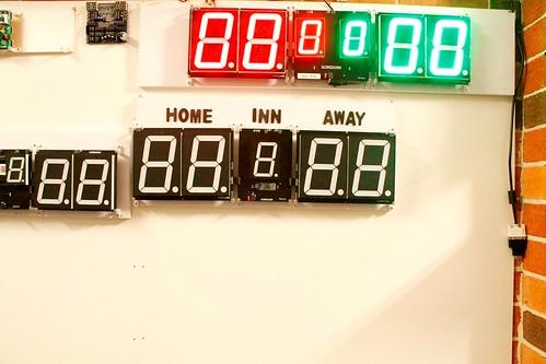 Arduino based digital Scoreboard  (455)