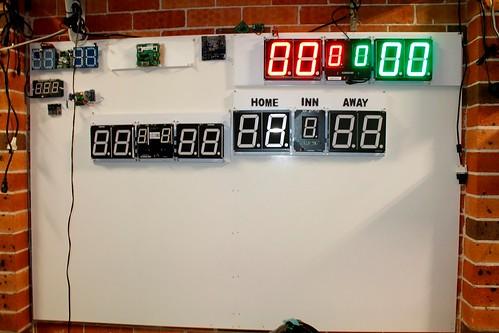 Arduino based digital Scoreboard  (453)