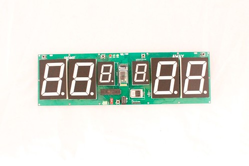 Arduino based digital Scoreboard  (430)