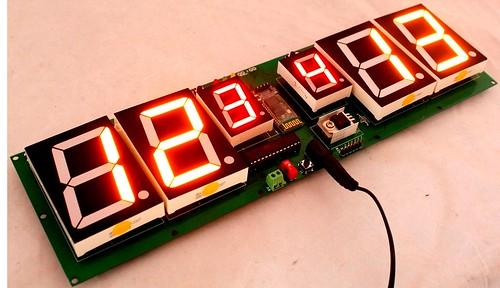 Arduino based digital Scoreboard  (424)