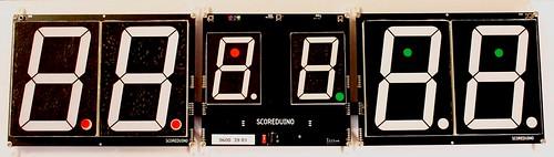 Arduino based digital Scoreboard  (418)