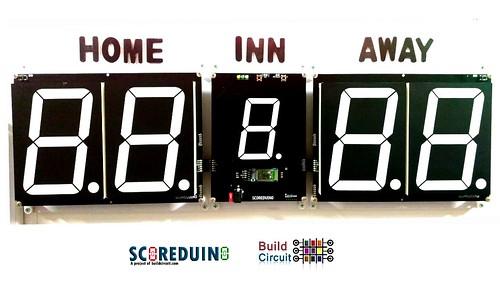 Arduino based digital Scoreboard  (416)