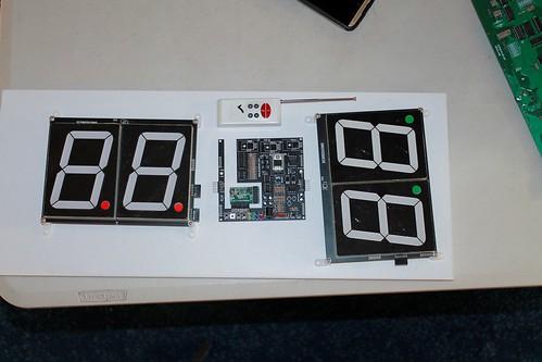 Arduino based digital Scoreboard  (409)