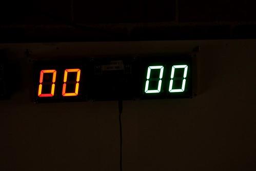 Arduino based digital Scoreboard  (402)