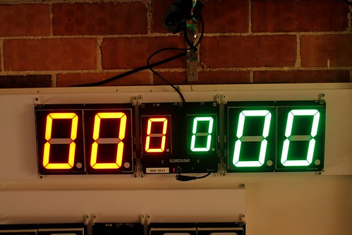 Arduino based digital Scoreboard  (399)