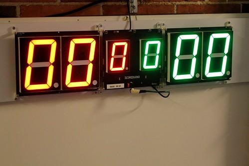 Arduino based digital Scoreboard  (393)