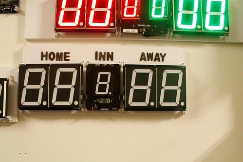 Arduino based digital Scoreboard  (370)