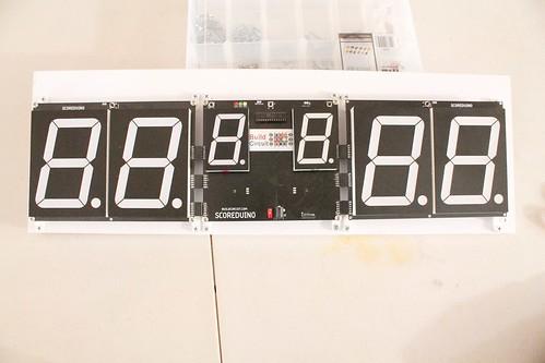Arduino based digital Scoreboard  (366)