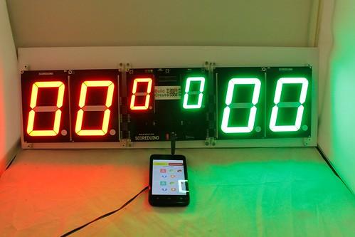 Arduino based digital Scoreboard  (362)