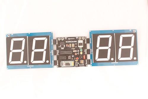 Arduino based digital Scoreboard  (343)