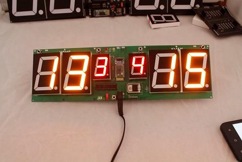 Arduino based digital Scoreboard  (336)