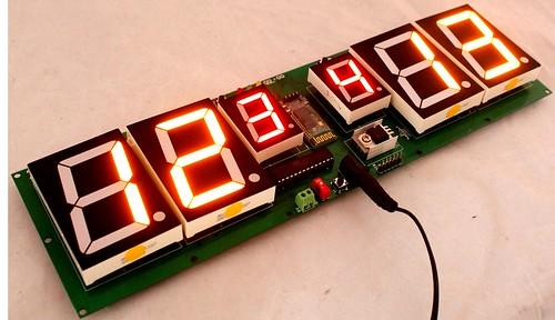 Arduino based digital Scoreboard  (333)