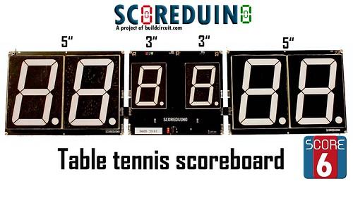 Arduino based digital Scoreboard  (332)