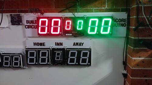 Arduino based digital Scoreboard  (323)