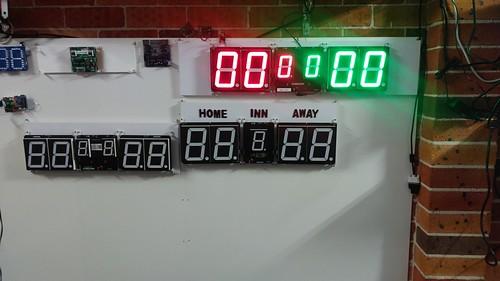 Arduino based digital Scoreboard  (320)