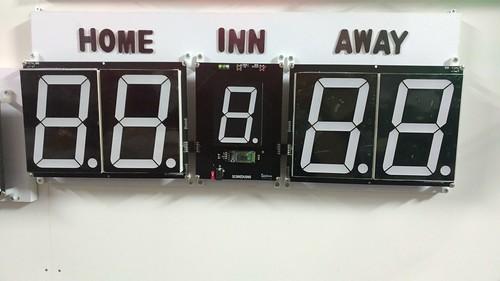 Arduino based digital Scoreboard  (318)