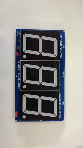 Arduino based digital Scoreboard  (250)