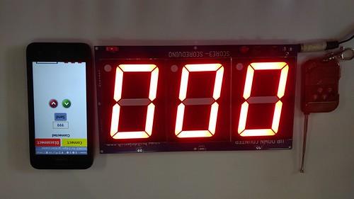Arduino based digital Scoreboard  (248)