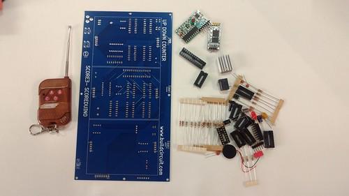 Arduino based digital Scoreboard  (240)