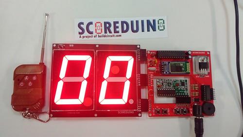 Arduino based digital Scoreboard  (232)