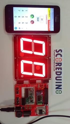 Arduino based digital Scoreboard  (231)