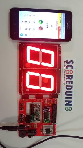 Arduino based digital Scoreboard  (230)