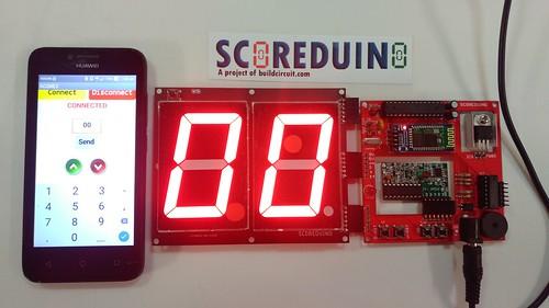 Arduino based digital Scoreboard  (229)