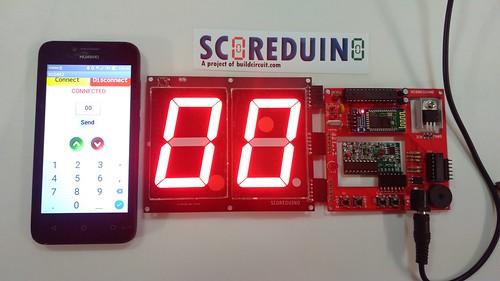 Arduino based digital Scoreboard  (228)
