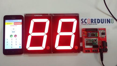 Arduino based digital Scoreboard  (227)