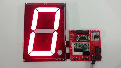 Arduino based digital Scoreboard  (218)